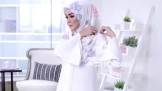 روش های بستن شال و روسری -۳