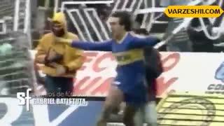سوپرگلهای گابریل باتیستوتا در دنیای فوتبال