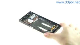 آموزش تعویض تاچ و ال سی دی سونی اکسپریا زد 5 / Xperia Z5
