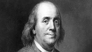 زندگینامۀ تصویری بنجامین فرانکلین سیاستمدار آمریکایی