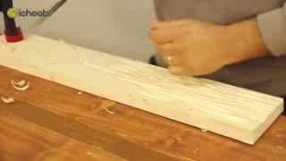 آموزش اجرای طرح گلویی روی چوب، ارزش آفرینی میلیونی!