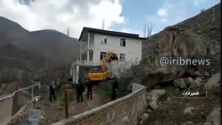 تخریب ۸ مورد ساخت و ساز غیرمجاز در لواسان