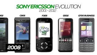 All Sony Ericsson Phones Evolution 2001-2012