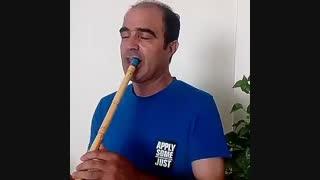 اجرای نی توسط استاد مجید نقی پور