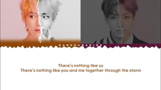 "[لیریک] کاور آهنگ"" NOTHING LIKE US "" توسط تهیونگ و جونگ کوک ::.bts.::"