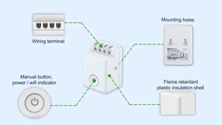 سوئیچ هوشمند وای فای BestCon مدل MCB1