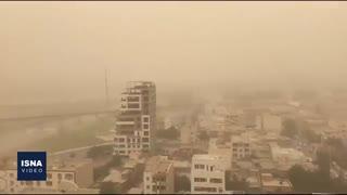 گرد و خاک در خوزستان