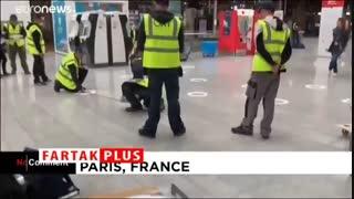 شیوه فاصلهگذاری ایستگاههای قطار در پاریس