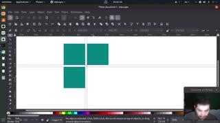 آموزش ساخت لوگو ویندوز ده در محیط اینک اسکیپ