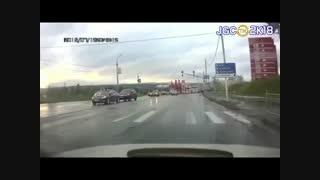 لحظات اتفاقات مرگبار یا خطرناک در تصادفات