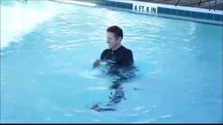فیلم آموزشی کار با دمبل آبی