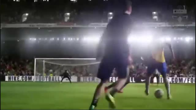 بهترین تبلیغ فوتبالی باحضور کریس رونالدو ونیمار