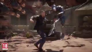 مبارزه روبوکاپ با ترمیناتور در مورتال کمبات 11 - هاردیت
