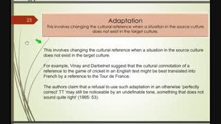 اصول و مبانی نظری ترجمه - فصل چهارم - قسمت سوم