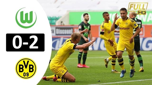 خلاصه بازی دورتموند 2 - ولفسبورگ 0 از هفته 27 بوندسلیگا آلمان