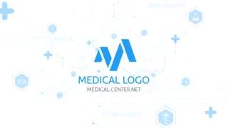 پروژه افترافکت ارائه لوگو پزشکی