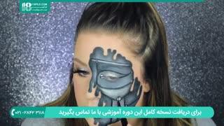 آرایش کامل صورت برای تولد- گریم ربات