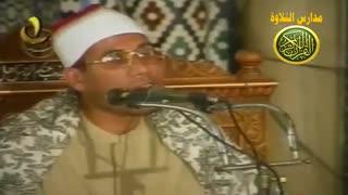 قران الفجر الشیخ عبد الفتاح الطاروطی  آیات الصیام من مسجد الامام الحسین اجواء شهر رمضان زمان