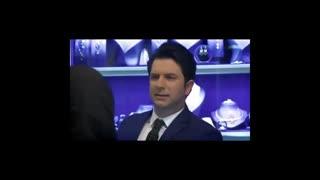 سرقت مسلحانه بهرام افشاری از طلا فروشی / سکانس های برتر قسمت 24 سریال دل
