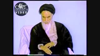واکنش امام خمینی(ره) به تعابیر تمجید آمیز  آیت الله مشکینی در مورد ایشان + ویدئو