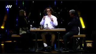 اجرای شیشه گری توسط هیاس حسینی در فصل دوم عصر جدید