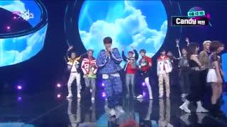 ♥♥♥کات برنده شدن بکهیونی و اجرای Candy♥♥♥