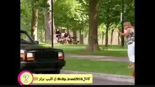 تاکسی بدون راننده  دوربین مخفی