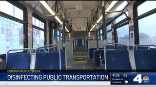 ضد عفونی وسایل حمل و نقل عمومی در آمریکا چطور انجام میشود؟