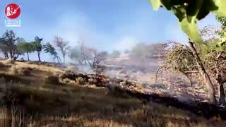آتشسوزی در سادات محمودی کهگیلویه و بویراحمد
