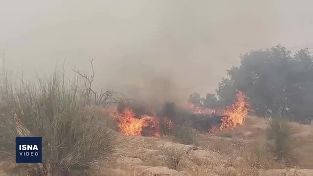 آتش دوباره در خائیز شعلهور شد