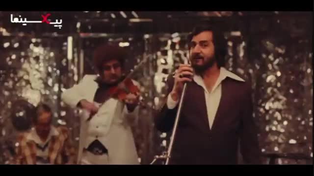فیلم مطرب ، سکانس دستگیری ابراهیم (پرویز پرستویی) هنگام اجرای برنامه