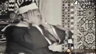 قرائت سوره طارق توسط استاد عبدالباسط عبدالصمد در مسجد امام حسین(ع) سال 1965