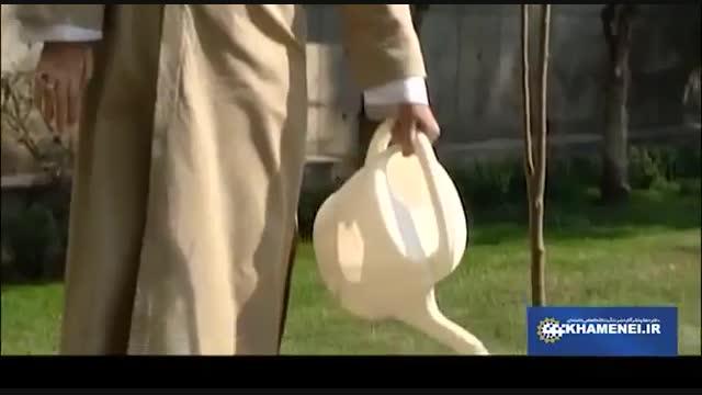 Ayatollah Khamenei planting 2 fruit tree saplings