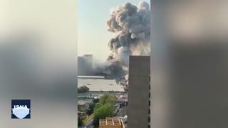 دهها کشته و زخمی در پی انفجارهای مهیب بندر بیروت